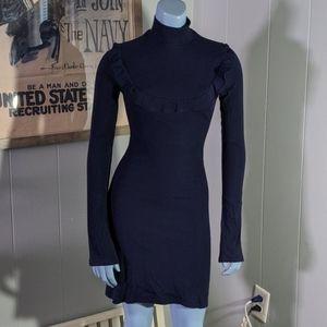 Ref Greer Dress in Navy
